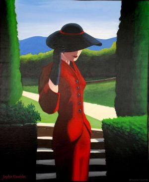 Femme en rouge - 2008