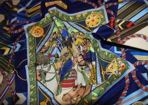 02 - Carré de coton « Bozkachi » (2000)