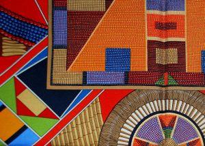 22 - Carré « L'Art Indien des Plaines », détail (2)