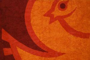 23 - Tapis de bain « Pavane » (2004), détail