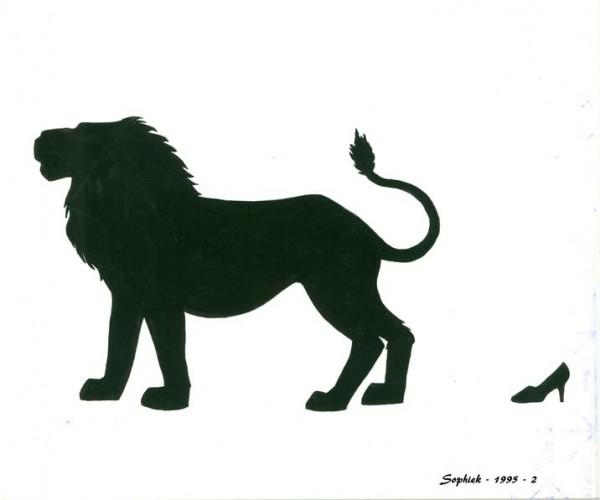 Le lion et la souris, 2